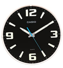 Casio Round Resin Analog Clock