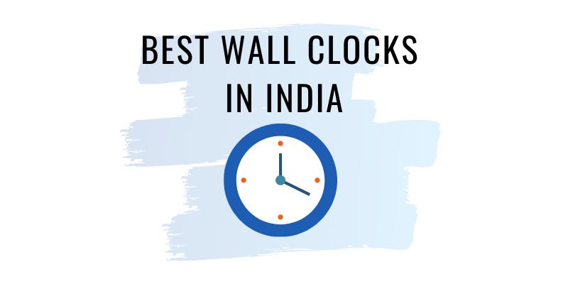 best wall clocks in india